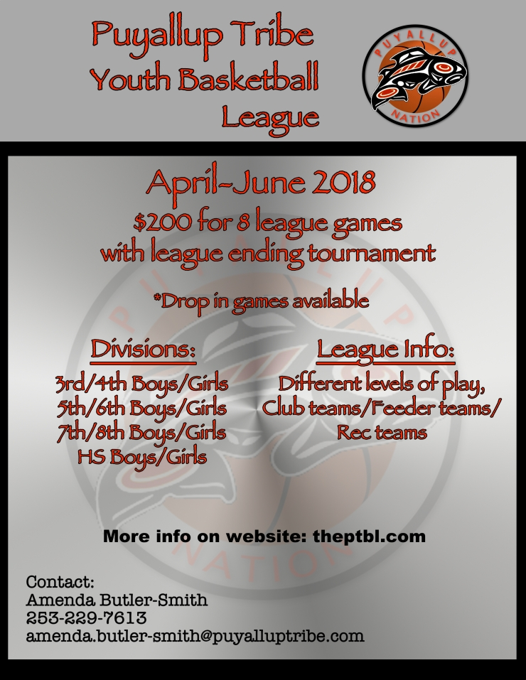puyallup tribe basketball league